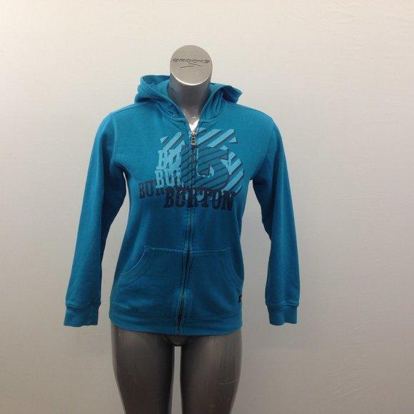 Burton Snowboarding Woman's Large Blue  Hoodie